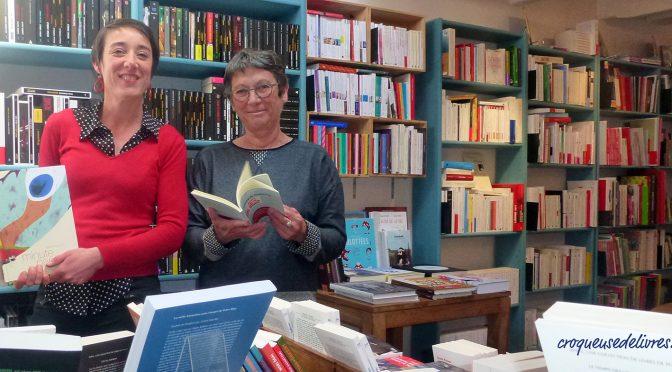 Anne Le Bihan et Estelle à l'Ecume des Jours